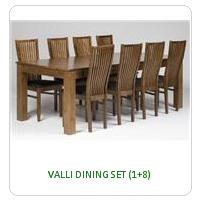 VALLI DINING SET (1+8)